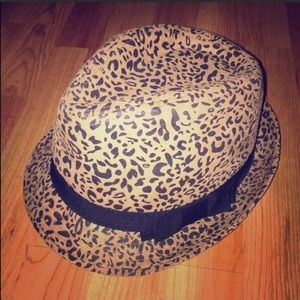 Accessories - Leopard Print Fedora